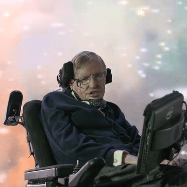 Stephen Hawking [Image: National Geographic Channels/Pau].