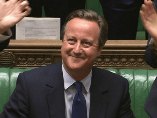 David Cameron's time on the front bench is not as popular with publishers as his predecessors' [Image: AP].