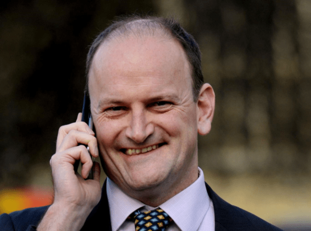 Douglas Carswell does not understand tides, but has managed to convince the people of Clacton - a seaside town - to make him their MP. What were they thinking? [Image: PA.]