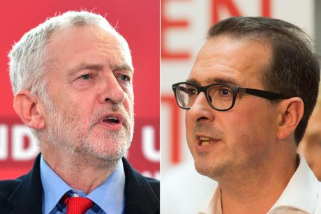 Jeremy Corbyn and Owen Smith [Composite: openDemocracy].