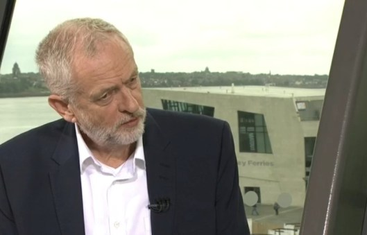 Jeremy Corbyn on the Andrew Marr show: Isn't it nice to have a political leader who doesn't need a party-approved soundbite in order to express himself?