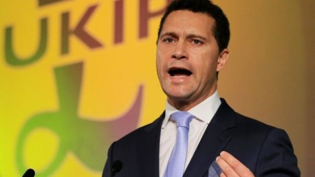 Mr Woolfe is standing against Raheem Kassam for the UKIP leadership [Image: PA].