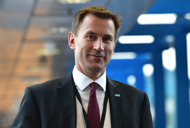Jeremy Hunt: Judging from the background, it would appear he lives on the Death Star. This should surprise nobody [Image: Carl Court/Getty Images].