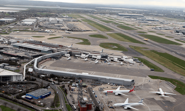 The partial suspension of collective cabinet responsibility strongly suggests the favoured proposal will be a third runway at Heathrow [Image: Steve Parsons/PA].