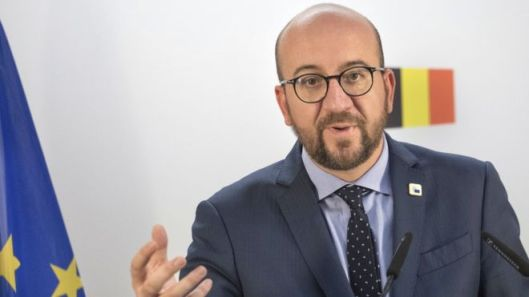 Belgian leader Charles Michel hosted his EU partners in Brussels last week [Image: AP].