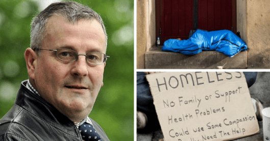 "Conservative Cllr David Heseltine wants to ""eliminate"" the homeless from the streets of Bradford."