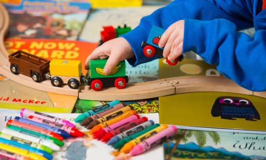 In 2015-16 half of all three- and four-year-olds in England attended an independent nursery without an early years teacher [Image: Dominic Lipinski/PA].