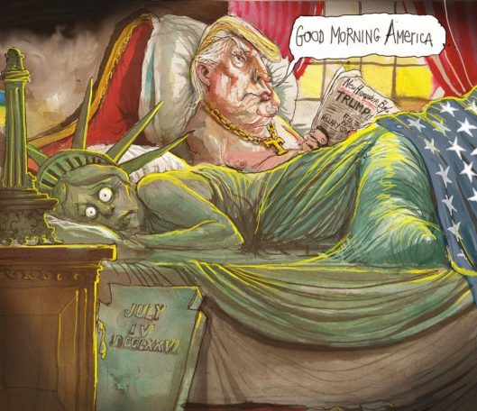 [Image: David Rowe, Political Cartoon Gallery.]