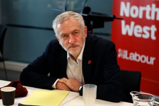 Jeremy Corbyn at the Disability Equality roadshow [Image: Andy Lambert].