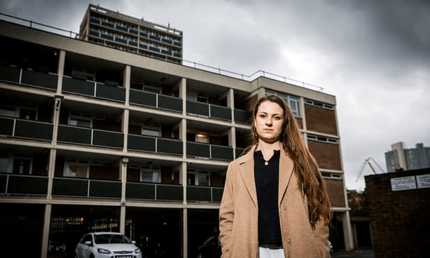 Daisy-May Hudson: 'I hope Half Way can connect councils to the human faces behind the statistics they deal with every day.' [Image: felix clay for the Guardian].