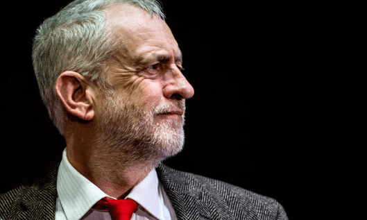 A murky horizon? Momentum members are among Jeremy Corbyn's strongest supporters, but he risks losing them, opines The Graun. This Writer disagrees [Image: Filip Singer/EPA].