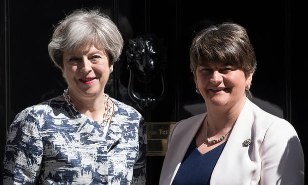 7c9abcfbf59 Northern Irish party flip-flops back to supporting Theresa May. So what