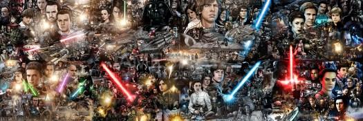 Star Wars fan art by James Raiz