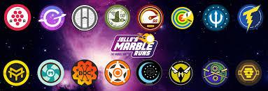 Marble Run team logos