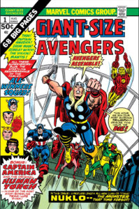 Cover of Giant-Size Avengers #1