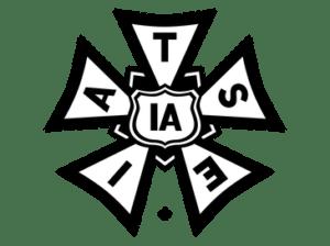 Logo of IATSE, one of the largest film unions