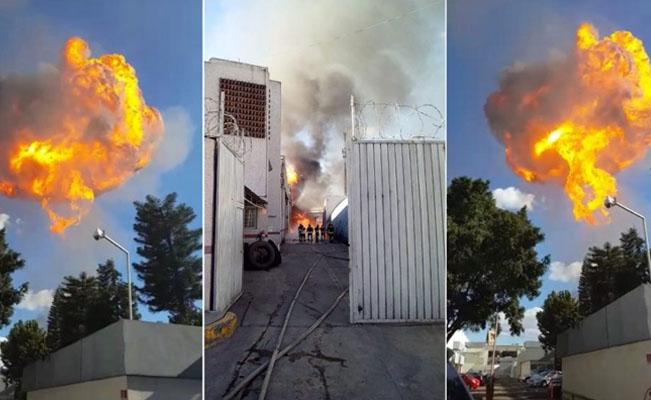 Картинки по запросу Incendio de fábrica de alcohol, Naranjo esq.