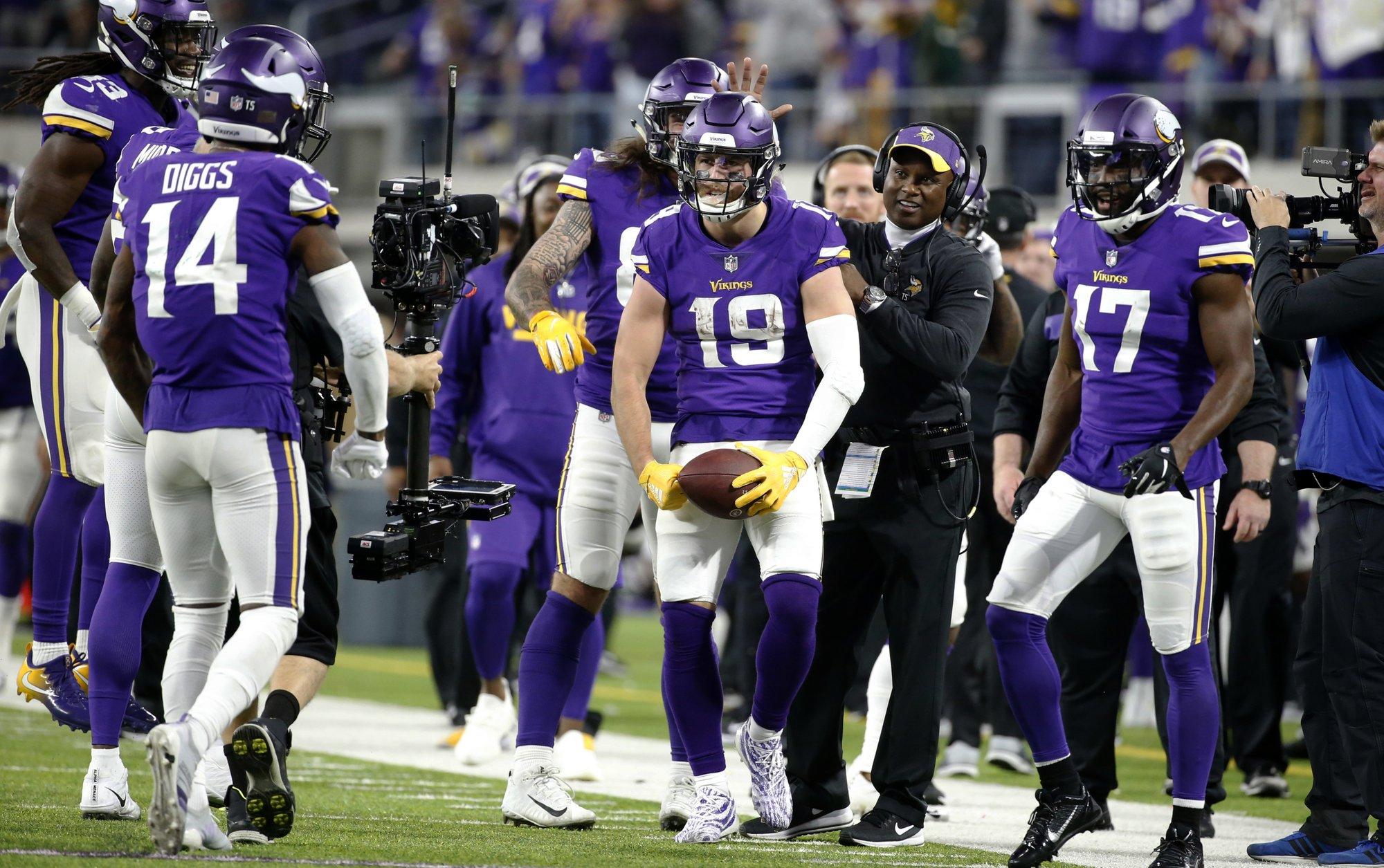 Vikings se impone 24-17 a los Green Bay Packers