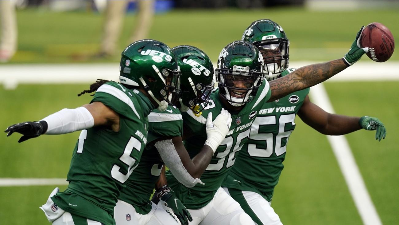 Jets resisten ante Rams y logran 1er victoria de la campaña