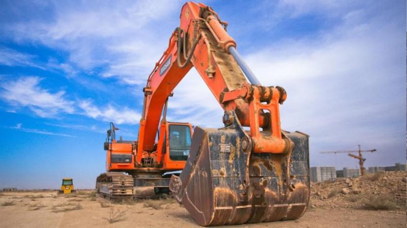 Voxxi civil engineering front loader