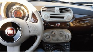 Fiat Pop 500c Dashboard