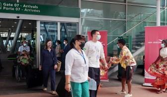 Les procédures de débarquement à l'aéroport de Maurice digitalisées