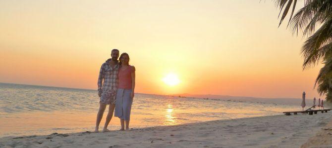 Mui Né, plage et dunes à l'aube et au crépuscule