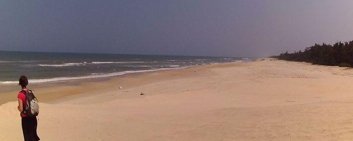 Notre plage déserte - Hué