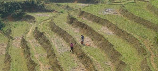 Les montagnes de Sapa, au Nord du Vietnam
