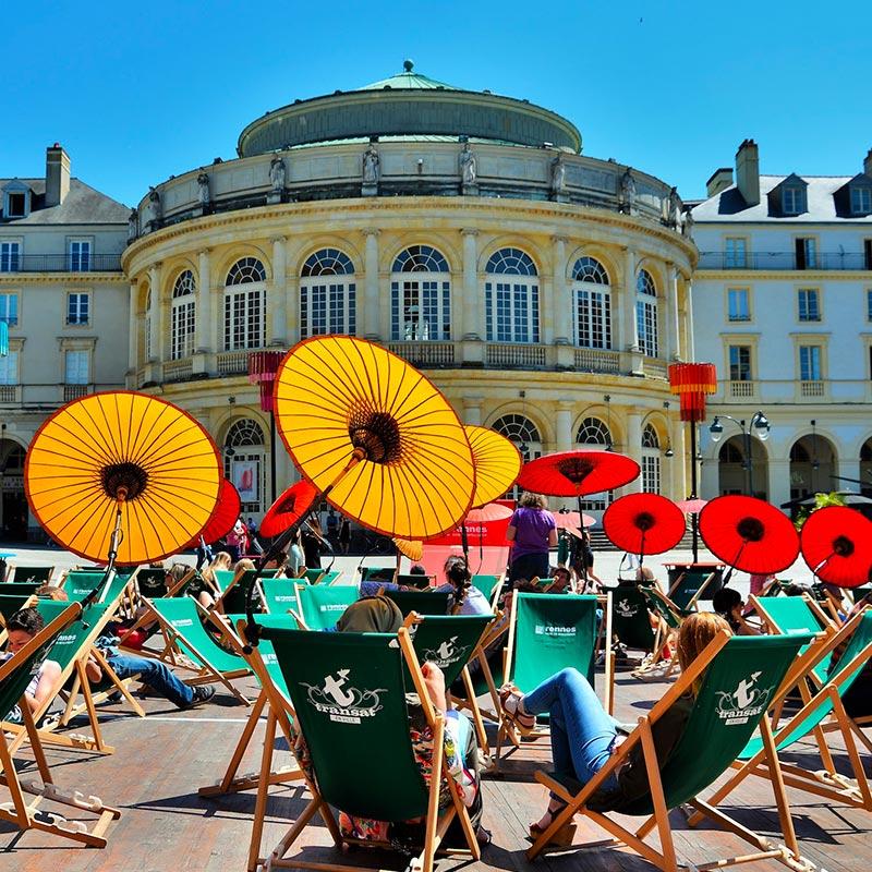 Transat en ville à Rennes