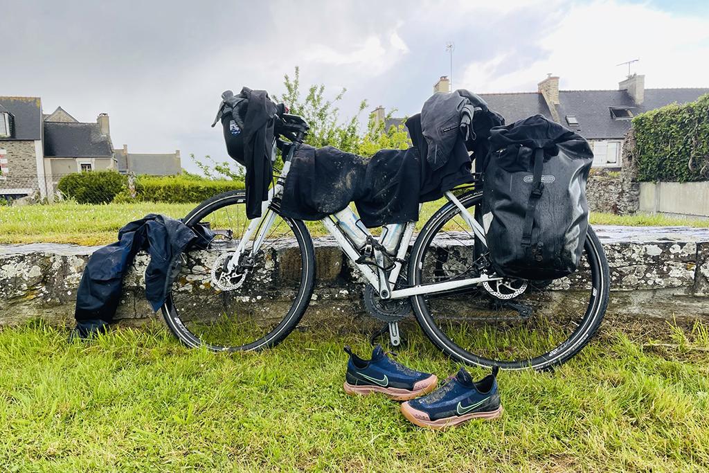 Parcours à vélo vers Rennes