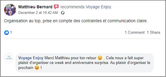 Témoignage coach de voyage Matthieu