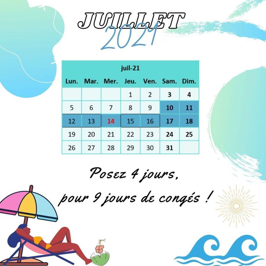 vacances juillet
