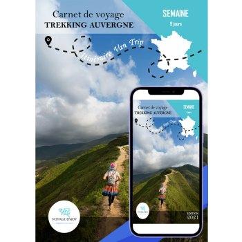 Carnet de voyage Van Trip 1 Semaine Trekking Auvergne