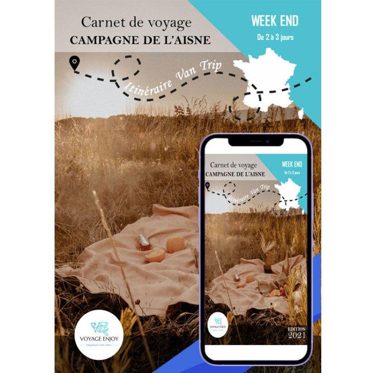 Carnet de voyage Van Trip Week End Campagne Aisne