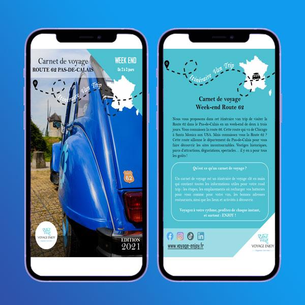 Smartphone Routre 62
