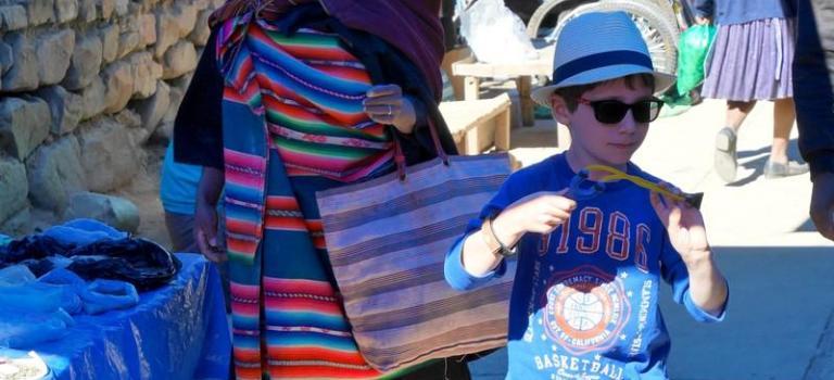 Le dimanche à Tarabuco, c'est le jour du marché