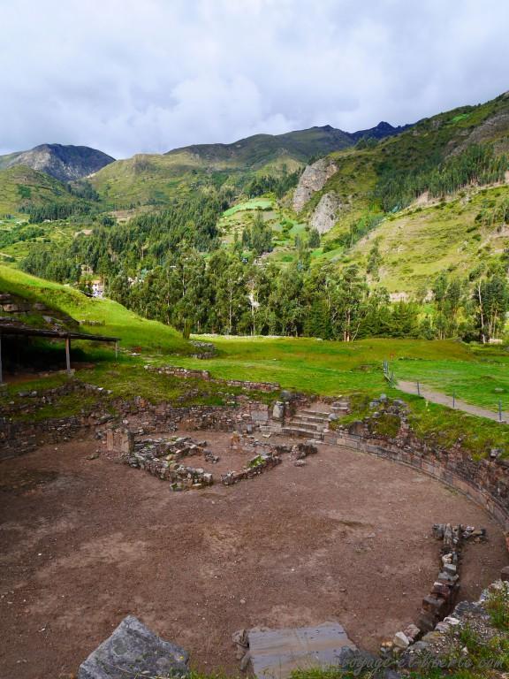 Place circulaire pour rites chamaniques