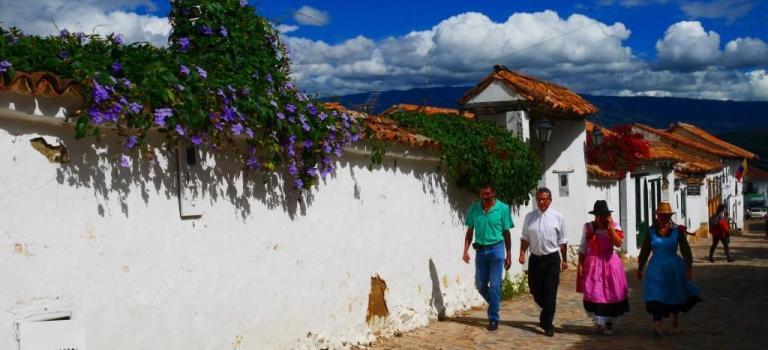 L'élégance des villages colombiens