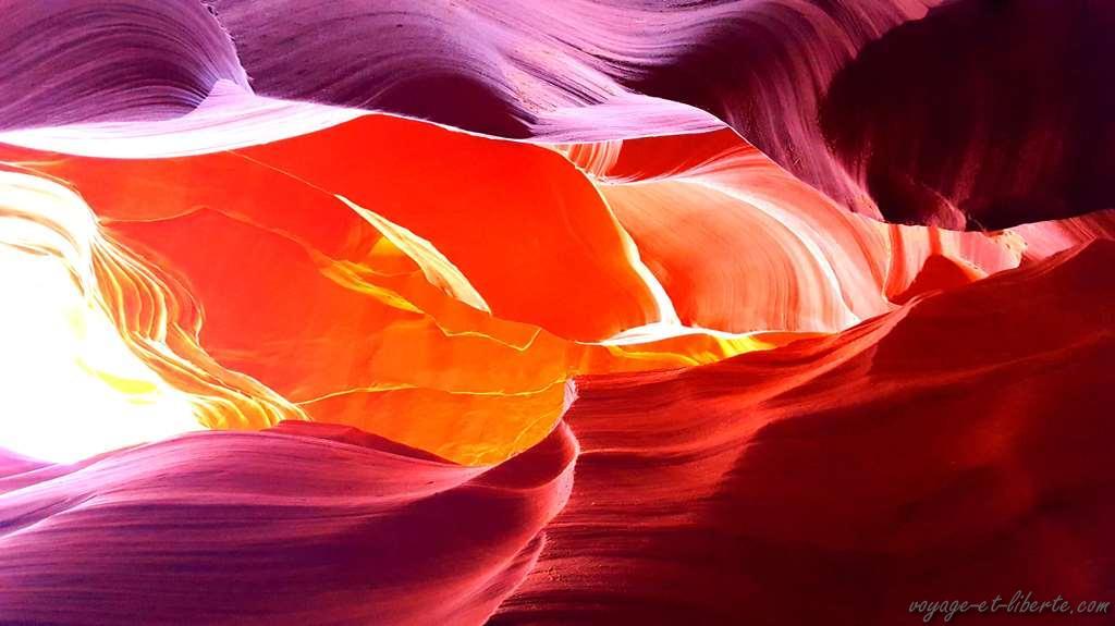 USA, Antelop Canyon
