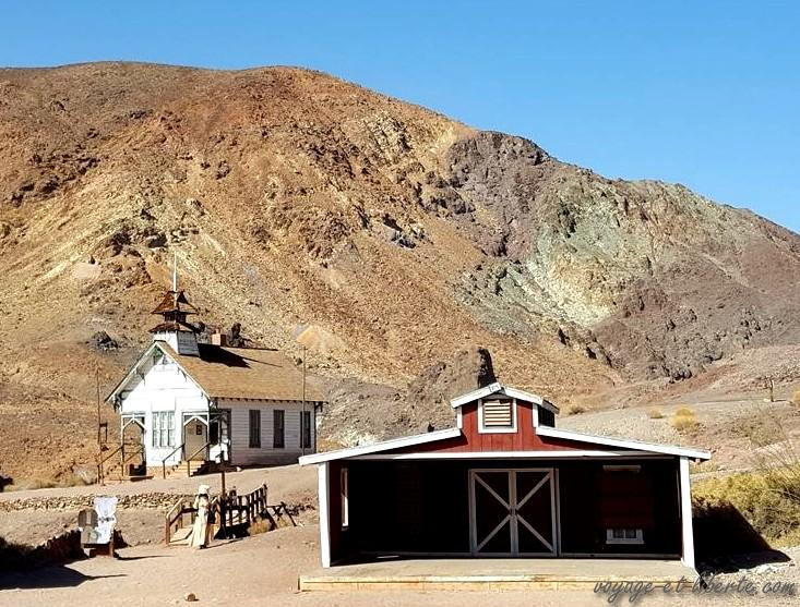 USA, Calico, ghost town