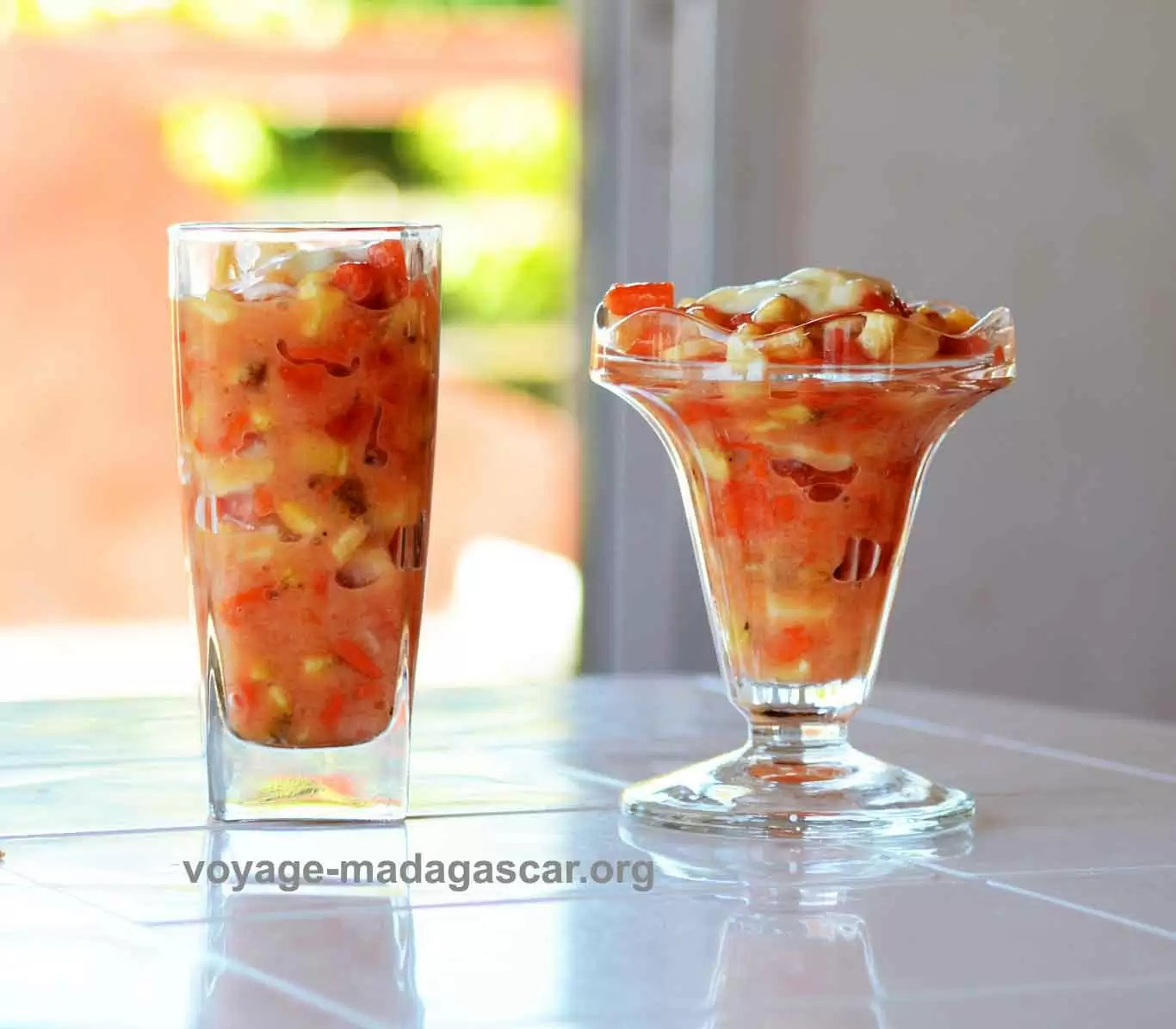 Salade de fruits tropicaux