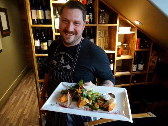 Chef Shaun Edmonstone, Bruce Wine Bar & Kitchen