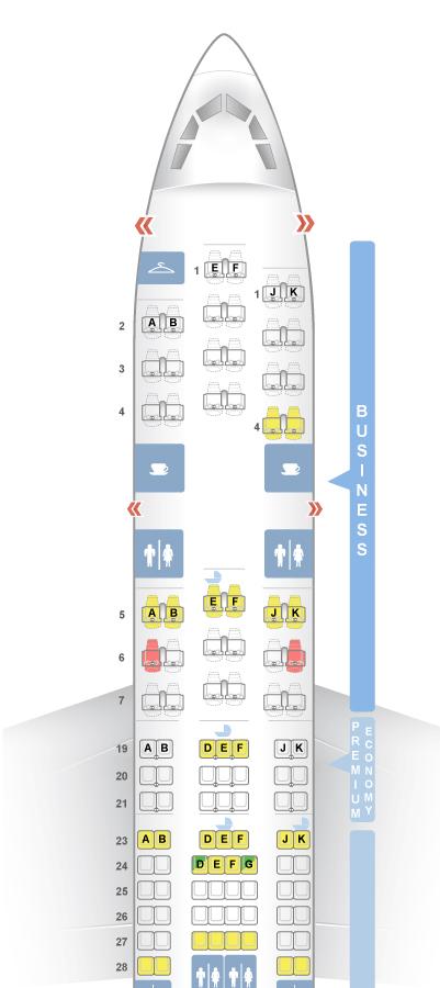 Voyage Platinum - Comment choisir le bon siège
