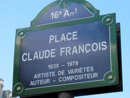 Place Claude François, Paris