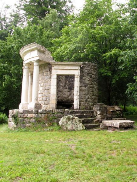 Temple, Parc Jean-Jacques Rousseau, Ermenonville