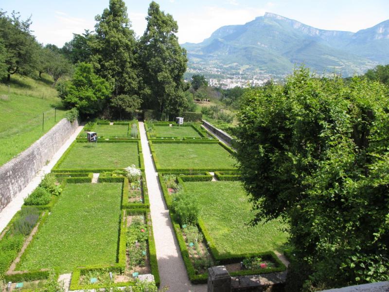 Jardin, Les Charmettes, Chambéry