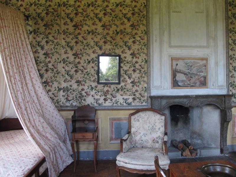 Chambre de Mme de Warens, Les Charmettes, Chambéry