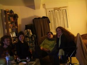dernière soirée ac Aude, Vince et Axelle à Paris