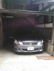 garage prive d'un des temples...